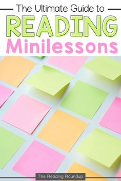 What is a reading mini-lesson? Reading mini-lessons are a key component in the Reading Workshop. This whole group lesson explicitly teaches students applicable strategies that they can use during independent reading. Find out more about the components of reading minilessons and tips for implementation in this comprehensive guide. Plus download the FREE printable planning forms! #thereadingroundup #teacherfreebie #readingminilessons Vocabulary Instruction, Vocabulary Activities, Teacher Freebies, Teacher Resources, Organization And Management, Ela Classroom, Independent Reading, Context Clues, Reading Workshop
