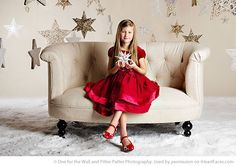 Gorgeous Holiday photo by One for the Wall.  Find more Inspiring Christmas Photo Session Ideas via iHeartFaces.com