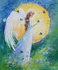 Anjo - Pintura de Viola Sado - Polônia