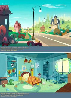 """INCREDIBLE Backgrounds from """"Eliot Kid"""":"""