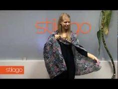 Как из шарфа сделать жилет - YouTube