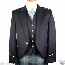 Scottish Argyle Jacket Mixed Tropical Wool Argyle kilt Jacket /& Waistcoat//Vest