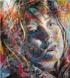 The Explosively Colorful Spray Paint Portraits of David Walker street art portraits painting David Walker, Walker Art, Art Texture, Urbane Kunst, Portraits, Fine Art, Street Art Graffiti, Street Mural, Street Artists