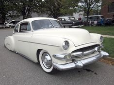1950 Chevy Fleetline  Maintenance/restoration of old/vintage vehicles: the material for new cogs/casters/gears/pads could be cast polyamide which I (Cast polyamide) can produce. My contact: tatjana.alic@windowslive.com