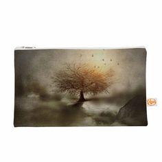 "Viviana Gonzalez ""Lone Tree Love IV"" Brown Nature Everything Bag"
