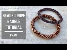 silver bracelets and charms Beaded Bracelets Tutorial, Woven Bracelets, Silver Bracelets, Seed Bead Earrings, Seed Beads, Beaded Earrings, Right Angle Weave, Bead Crochet Rope, Bracelet Patterns