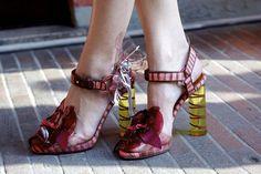 Missoni's Perspex Sandals for Summer 2012