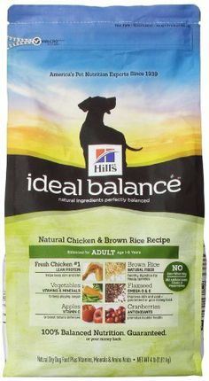 We give grain free pure balance dog food a try free dogs dog hills ideal balance chicken and brown rice recipe adult dog dry food bag 4 forumfinder Choice Image