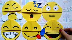 Easy paper craft: DIY emoji bookmark corners, Easy back to school supplies, Maison Zizou. bookmarks :) DIY corner bookmarks in just 5 minutes! Its a very easy emoji craft and its very fun! Bookmarks Diy Kids, Emoji Bookmarks, Corner Bookmarks, Handmade Bookmarks, Easy Crafts For Kids Fun, Paper Crafts For Kids, Easy Diy Crafts, Diy For Kids, Diy Paper
