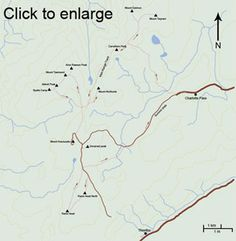 Mount Kosciuszko walking tracks. Also, the average temperatures and rainfalls. Brr!