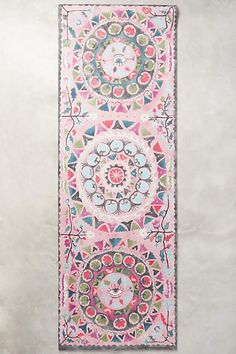 Suzani Yoga Mat - anthropologie.com
