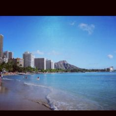 One of my all time favorite places - Wakiki Beach, Hawaii.