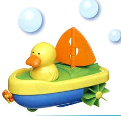 Ahoy! Bath time fun with this Pull-string Sailer Duck toy. For ages 3-5 years, works in tub and most smooth surfaces. Buy it now for only $5.99 at Snow's! https://www.snowshomeandgarden.com/products/toy-pull-string-sailor-duck-7120.html