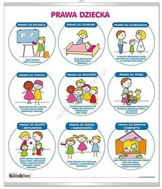 Prawa dziecka Polish Language, Dot Painting, Kids And Parenting, Psychology, Kindergarten, Classroom, How To Plan, Education, Children