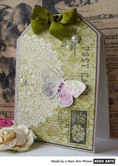 jacqueline.fr Big Post Card stamp  Hero arts blog