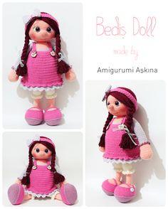 Amigurumi Bediş Bebek- Amigurumi Bediş Doll #amigurumi #amigurumidoll #crochet #handmade