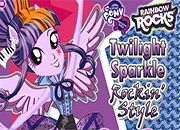 Twilight Sparkle Rocking Hairstyle