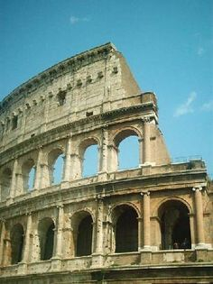 The Colosseum, or the Coliseum, originally the Flavian Amphitheatre is an elliptical amphitheatre in the centre of the city of Rome, Italy, the largest ever built in the Roman Empire, built of concrete and stone. - New Seven Wonders of the World.