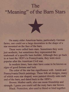 1000 Images About Barn Star Ideas On Pinterest