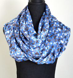 All of our Versatile infinity scarves can be worn as a beach cover up