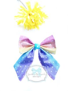 This Beautiful and colorful Sailor Bow is one of our favorite Bows. A sweet addition to any outfit.Sailor bow can be on clip or nylon headband. This beautiful bow would be great to complete your birthday parties outfit ! Unique Hair Bows, Handmade Hair Bows, Handmade Shop, Handmade Items, Birthday Party Outfits, It's Your Birthday, Birthday Parties, Girl Hair Bows, Girls Bows