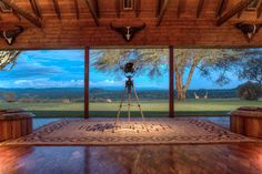 Ol Jogi Laikipia Plateau view from verandah