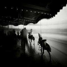 Stefan Killen - New York Jane's Carousel, Dumbo, Brooklyn - Pinhole photograph.