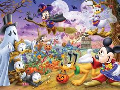 Halloween Mickey Mouse