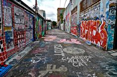 Mission District San Francisco | Clarion Alley, Mission District, San Francisco, California (1 of a Set ...