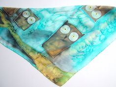 owls  25 x 25  27 euro  include shipping  by KATKAartSHOP on Etsy