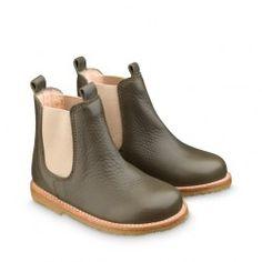 ANGULUS kids boots STYLE B2192 Olive-green