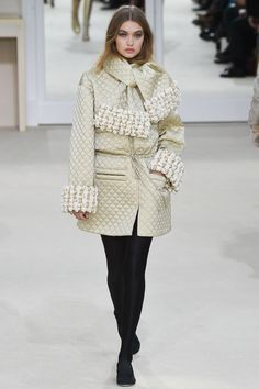 Gigi Hadid for Chanel - Fall/Winter 2016 - Paris Fashion Week.
