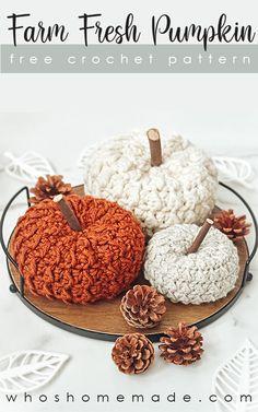 Thanksgiving Crochet, Holiday Crochet, Halloween Crochet, Crochet Home, Free Crochet, Knit Crochet, Crotchet, Crochet Doilies, Fall Halloween