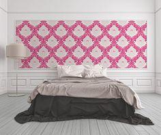 Raumbild der pink-glitzernden Bling Bling Tapete 313935 von A.S. Création  #BlingBlingTapete #BlingBlingZimmer #tapetenshop #GlamourTapete #GlitzerTapete #BlingBling