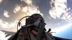 The Best Pilot-Shot F-18 Fighter Video You'll Ever See - F18 Carrier Ops, via YouTube.