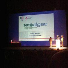 Premios AJE Asturias 2014 Moodo Neoalgae