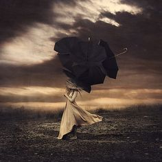To be prepared - Self-portrait Photography by Brooke Shaden