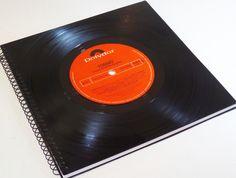 Gästebücher -  Gästebuch  Schallplatte TOMMY  - ein Designerstück von Aurum bei DaWanda