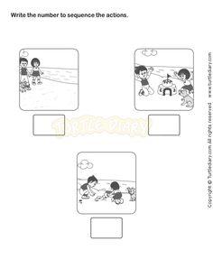 Picture Sequence Worksheet 20 - esl-efl Worksheets - kindergarten Worksheets