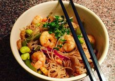 China Food, Japchae, Food Porn, Food And Drink, Low Carb, Korean, Pasta, Japanese, Dishes