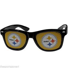Pittsburgh Steelers Game Day Wayfarer Sunglasses #PittsburghSteelers Visit our website for more: www.thesportszoneri.com