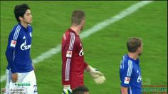 OMG! I wanna be Erwin right now  and nice assist from Uchida. And nice goal from Huntelaar ☺️