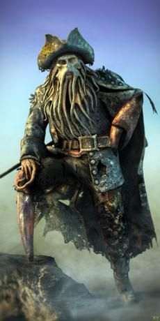 Davy Jones - Pirates des Caraïbes Wiki