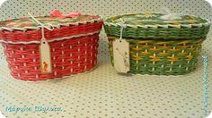 Поделка изделие Плетение Сумочки на лето Трубочки бумажные фото 11