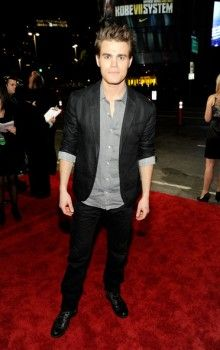 Paul Wesley at the People's Choice Awards 2012