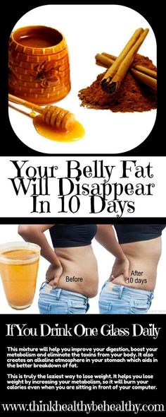 our Belly Fat Will Disappear In 10 Days If You Drink One Glass Daily