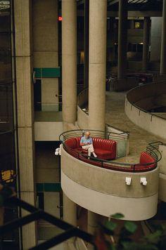 bonaventure hotel, john portman, 1976 | downtown los angeles, californiaig: phdonohuephdonohue