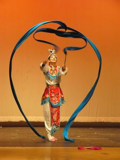 History of Chinese Ribbon Dance - 黃照斌 Chinese Cultural Enrichment Boston area