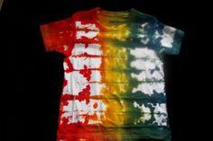 tie dye t-shirt method variations