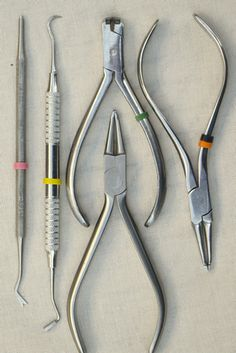 Dental tools for jewelry making...cool!